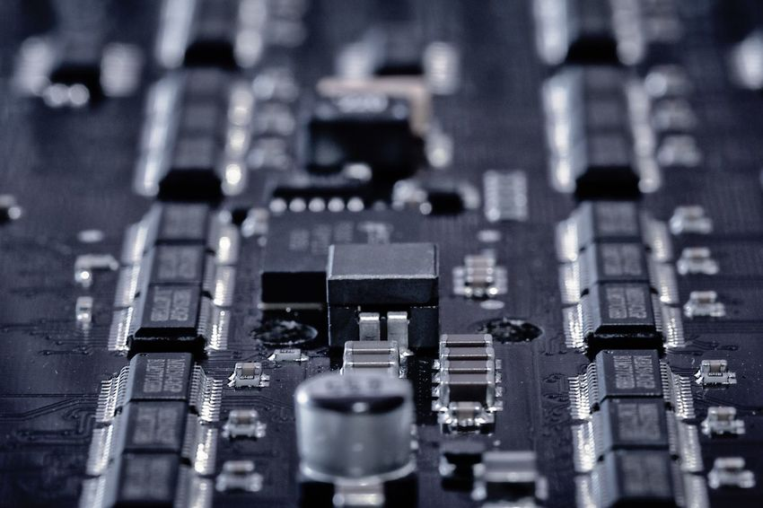 Close Up Technology Technology Close-up Circuit Board Depth Of Field Exceptional Photographs EyeEm Best Edits Drastic Edit Circuit Electronics  PCB Printed Circuit Board Indoors  Electronic Electronics Industry Innovation Soldering Futuristic Taking Photos Abstract Macro Photography