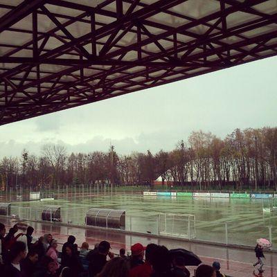 Rain at the stadium Vnua