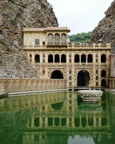 India Reflection Travel Photography Ancient Ancient Civilization Arch Arched Architecture Building Exterior Built Structure Day History Incredible India Lake Nature No People Old Reflection Sky The Past Tourism Travel Travel Destinations Water Waterfront