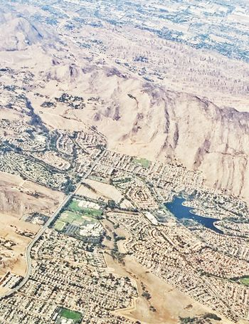 Aerial view Aerial View Landscape Travel Scenics Physical Geography Nature Travel Destinations Backgrounds Tranquil Scene Extreme Terrain Beauty In Nature Arid Climate Patchwork Landscape View Into Land Day Suburbia
