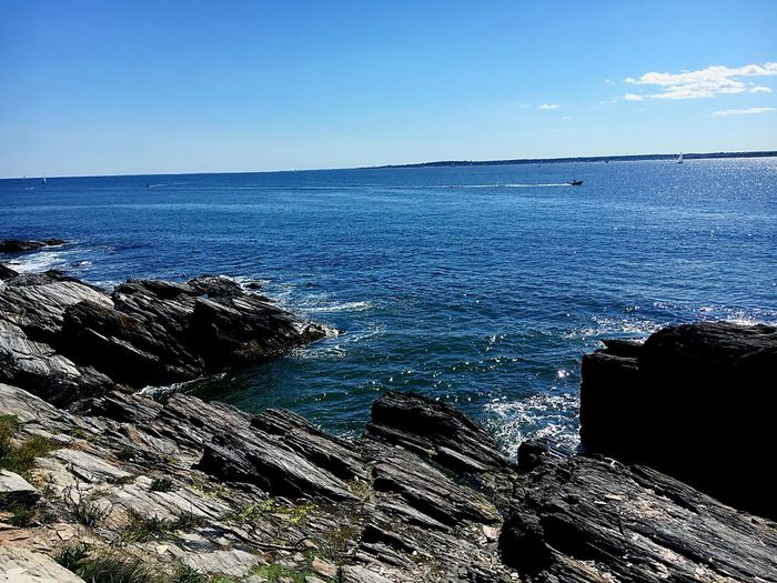 Sea Horizon Over Water Tranquil Scene Scenics Water Nature Beauty In Nature Blue Tranquility Outdoors No People Day Sky Clear Sky
