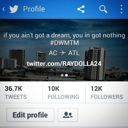 Go follow me on Twitter @RAYDOLLA24????