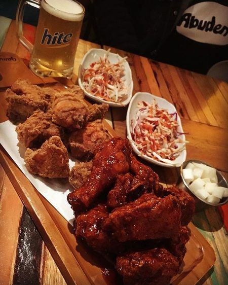 Late night supper Gamifriedchicken Gami Dietfailed Lifeshouldbethisway Melbournefood