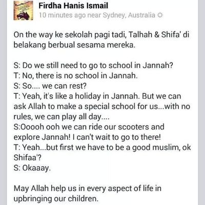 Why so cute ? :) :) :) *Yet its like a giga slap.... Only in Jannah, the place for us to rest..... Productivemuslims Children Addin Almightybless