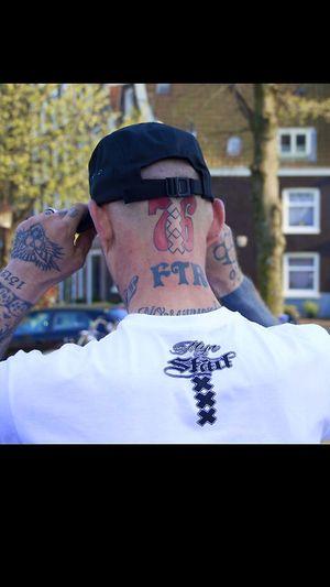 Amsterdam Inked 76crew F-Side Casual Clothing Tattooed Tattoos Tattoo