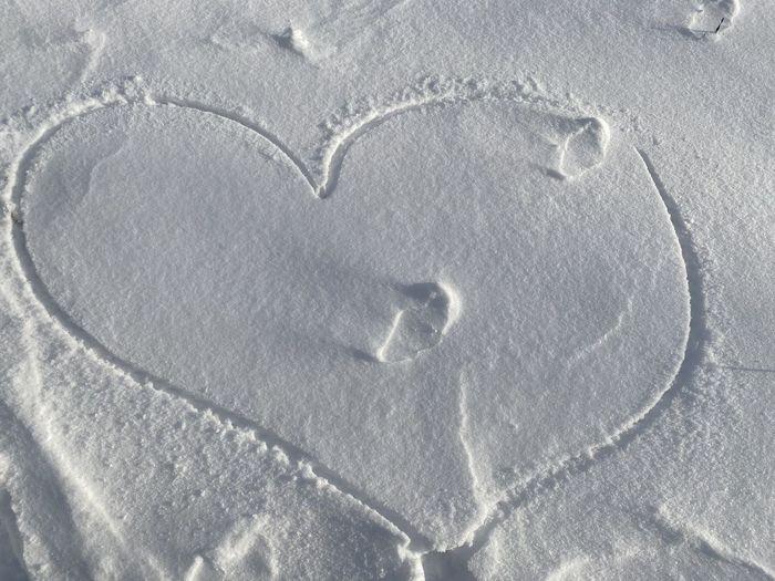 Full frame shot of heart shape