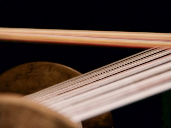 Music Musical Instrument Close-up Selective Focus Arts Culture And Entertainment Studio Shot String Instrument Wood - Material Indoors  Musical Equipment Black Background No People Musical Instrument String Single Object String Performance Classical Music Brown Extreme Close-up Still Life