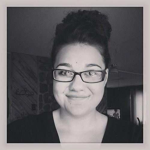 Dreery Blackandwhite Bun Glasses vneck tiredCarsyn
