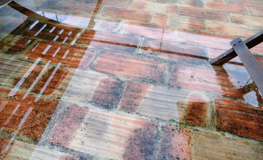 Rain in varanda Portugal Alcacer Do Sal Full Frame Backgrounds No People Water Wet