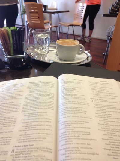 physical and spiritual heart starter Coffee Word Of God