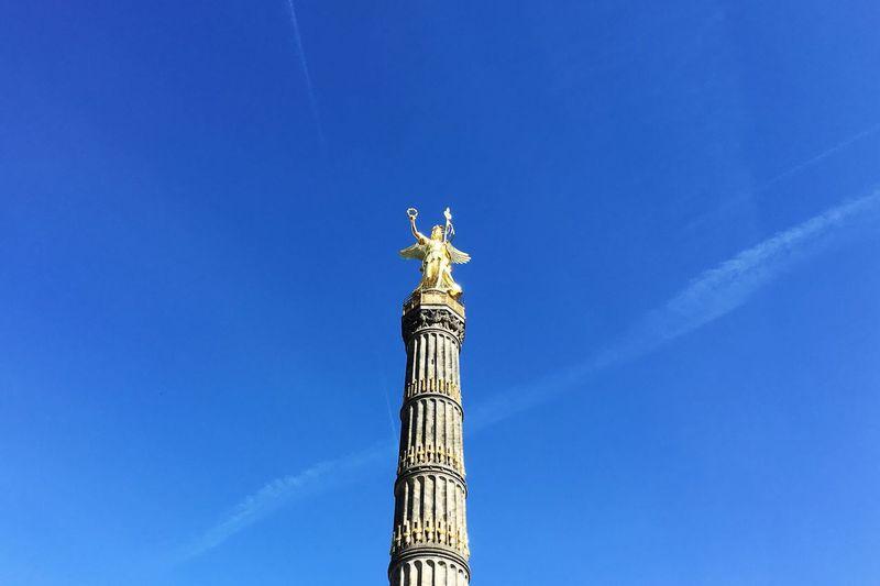 Berliner Siegessäule Berlin Hauptstadt Deutschlands Sehenswürdigkeiten Berlins Berlin Victory Column Monument In Berlin Sculpture Of Victoria