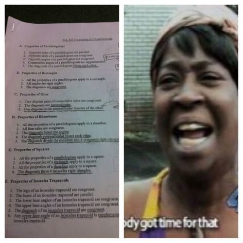 Memorizing all these properties for geometry