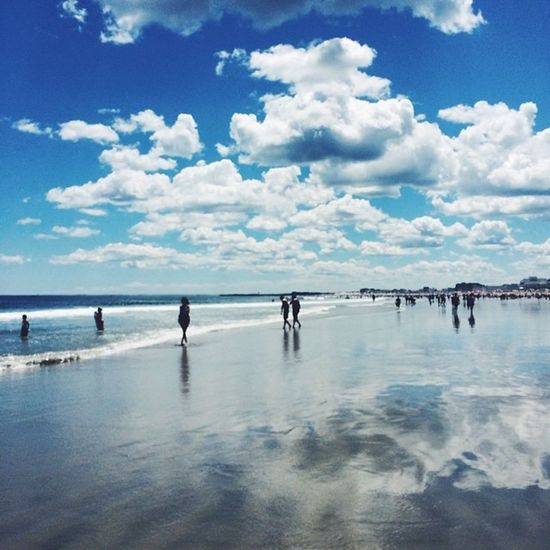 Vscocam Beach Reflection Summer Happy