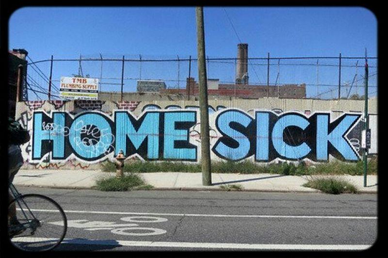 Home Sick Graffiti Art Summer