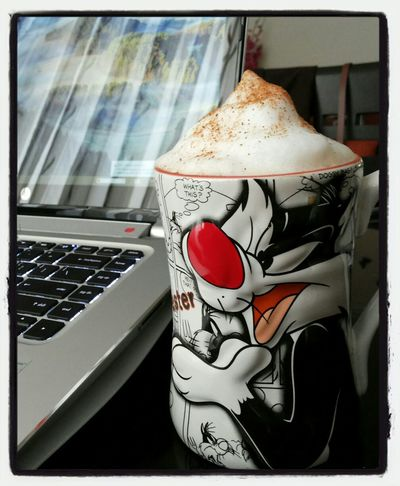 Coffee Working Cuppocino Homemade