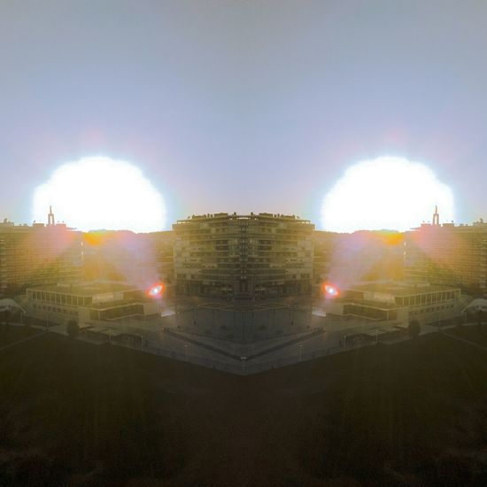 Two Is Better Than One Myview Dystopian Illusion Artedigital Alternateworld Geometrical Shapes Urban Geometry Digital Skyline Illusion Of Time And Space Glitched Futuristic Sunset Urban Portugal Margem Sul Almada Cityscapes Digitalart  Fantasy Check This Out