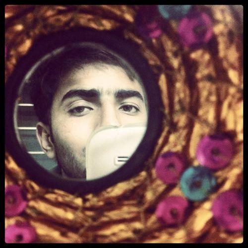 Fuzzy Beard Ajeeb Angle :-P