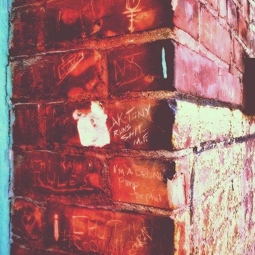 Brick Sigs Brick Graffiti Symbols Wall