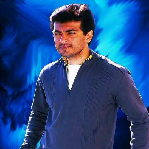 Thala 😍😍 Blue Standing Waist Up Young Men Front View Young Adult Cloud Focus On Foreground Tranquility