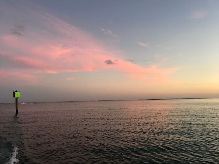Boca Grande FL Sea Water Sky Horizon Over Water Scenics Beauty In Nature Tranquility Sunset Nature Tranquil Scene Idyllic Outdoors No People Day
