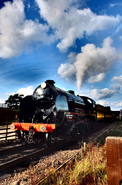 Day EyeEm Best Edits EyeEm Best Shots HDR Mode Of Transport Morayshire No People Sir Lamiel Steam Locomotive Steamtrain Trainspotting United Kingdom