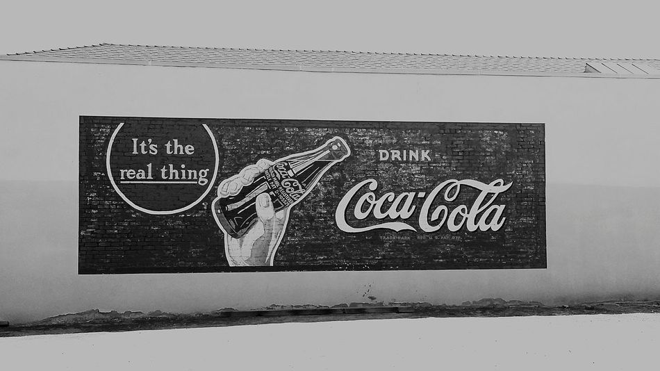 Text No People Close-up Day Outdoors Food And Drink Signs Buildings Building Restaurant Outdoors Photograpghy  Visalia Text Visalia, Ca Coke Coke Bottle Coke Design Coca Cola Advertising