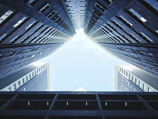 Architecture Built Structure Low Angle View Indoors  Skyscraper Day Modern City Building Exterior No People