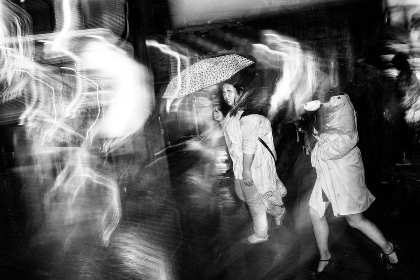 Rainy day-Shibuya, Tokyo, Japan, 2017 Blackandwhite Streetphotography