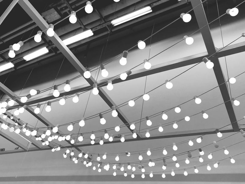 Light it up.✨ Light And Shadow Light Interior Design Iphoneonly Iphonephotography Iphonesia IPhoneography EyeEm Best Shots - Black + White Eyeemphotography EyeEm Selects EyeEm Gallery EyeEmNewHere EyeEm Best Shots Challenge Blackandwhite Photography Blackandwhite Indoors  Lighting Equipment Ceiling Illuminated Low Angle View Arts Culture And Entertainment No People EyeEmNewHere EyeEmNewHere
