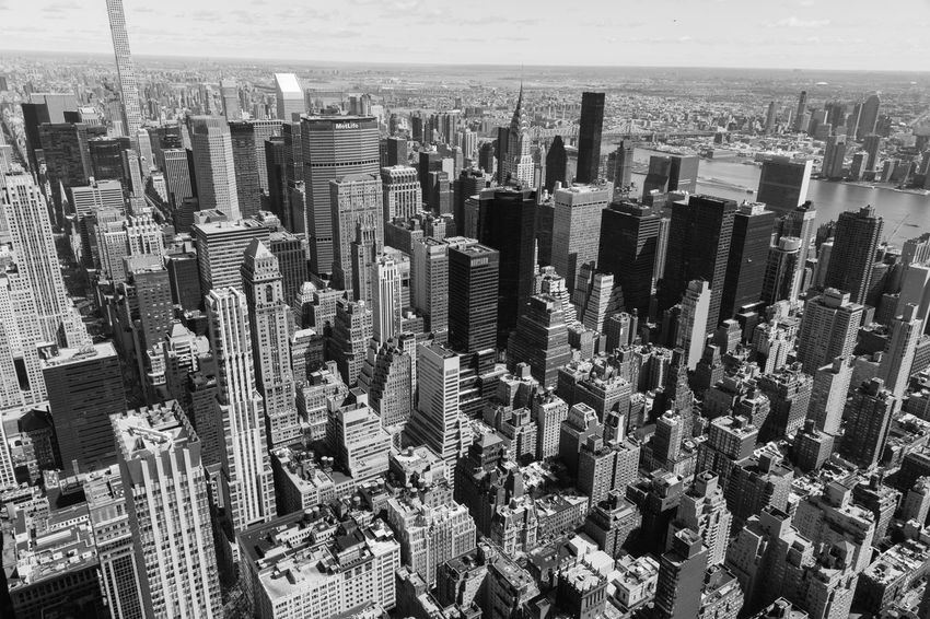 Black And White Photography Concrete Life High Line Buildings Looking Down New York City Travel Destinations Travel Photography View From Above