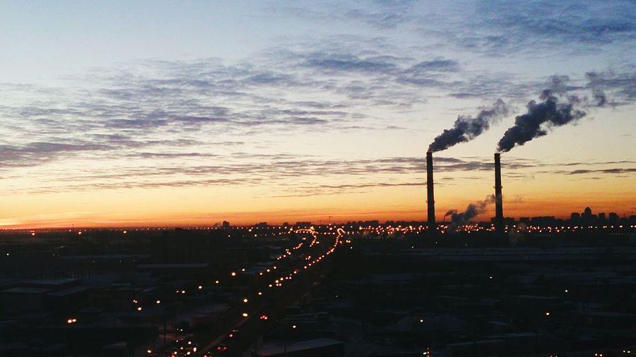 Закат , ночной город, Санкт-Петербург Спб Питер любимыйгород питерятебялюблю добройночи 🌆🌃🌌📷👧😍
