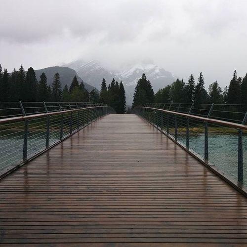 Bowfalls in Banff  with @roghocom 🌲🌄Mountains Banff  😏🌄 Themountainsarecalling Bowfalls Outdoors Explore Explorecanada Alberta