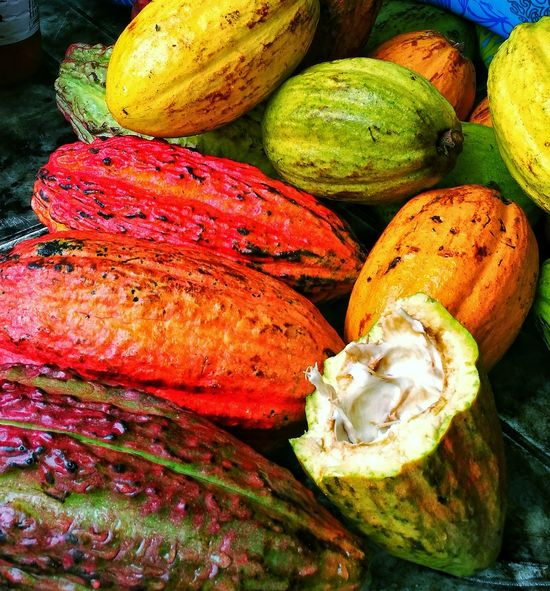 Food Freshness Healthy Eating Colors Multi Colored Close-up Day Outdoors Exploring Style Brasil ♥ Cacao Porto Seguro, Bahia Fruits