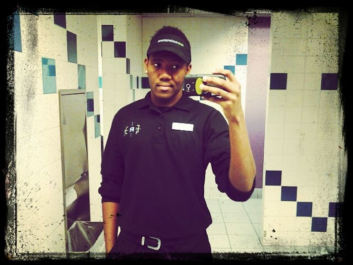 At work yesterday morning #work #morning #shift #job #movie #theater