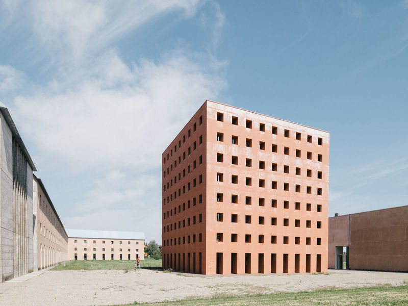 Architecture Aldo Rossi Architect Cemetery Italy The Architect - 2018 EyeEm Awards