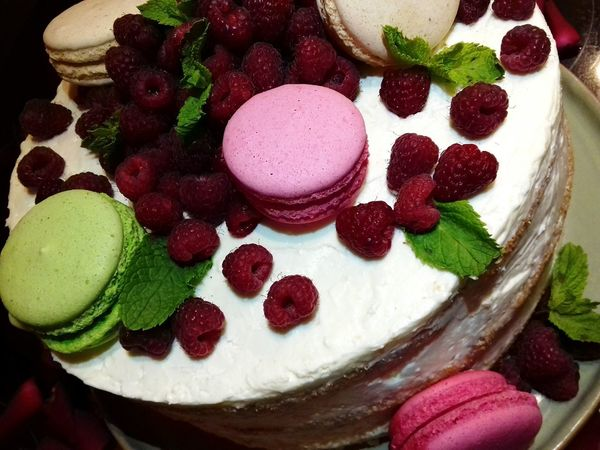 Happy birthday, mommy.. 😘🎂🎉🎊Sweet Food Food And Drink Berry Fruit Close-up Still Life Temptation Fruit Ready-to-eat Raspberry Unhealthy Eating Indulgence Indoors  High Angle View Dessert Sweet Food Multi Colored Cake No People Freshness Saint Petersburg Summer Vanilla Ice Cream  Dessert