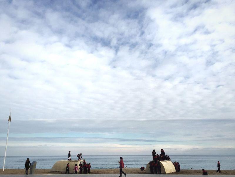 Open Edit Beach Afternoon Barcelona