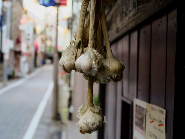 Hanging Garlic No People Close-up Kagurazaka Tokyo Japan 3XPSUnity Canon G5X