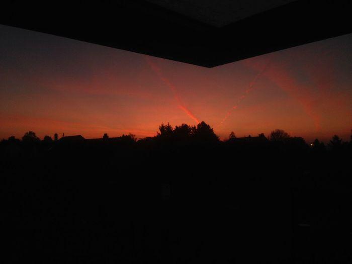 Sun Sunset Nature Sky Orange Color No People Scenics Outdoors Calm