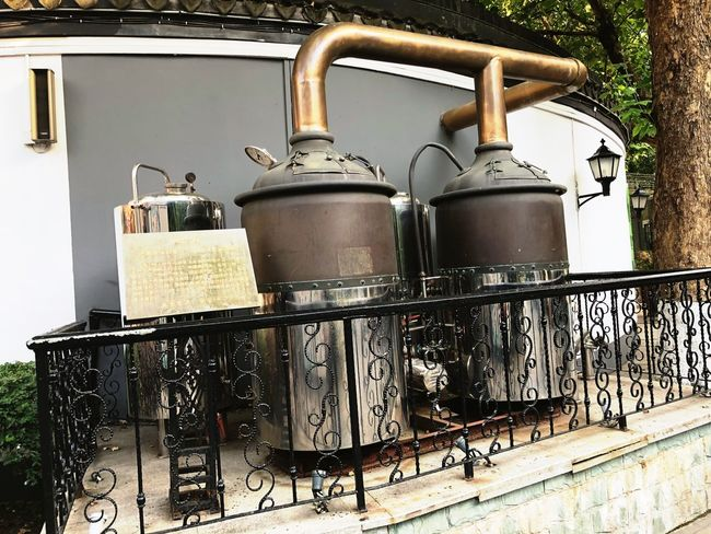 The German Beer Machine - - Near Nanking Presidential Palace EyeEm Selects Metal No People Day Container Still Life Outdoors
