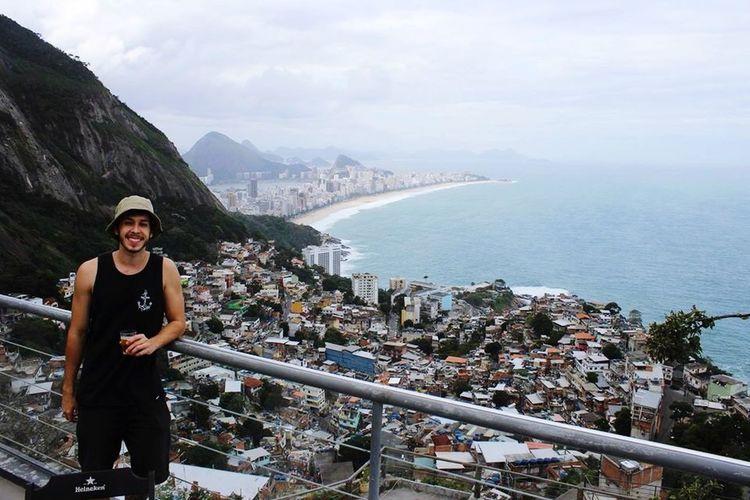 Favela Vidigal Traveling Riodejaneiro Ipanema Beach Citiescapes