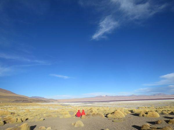 Love in Bolivia Atacama Desert Bolivia Couple Love Red Arid Climate Atacama Beauty In Nature Landscape