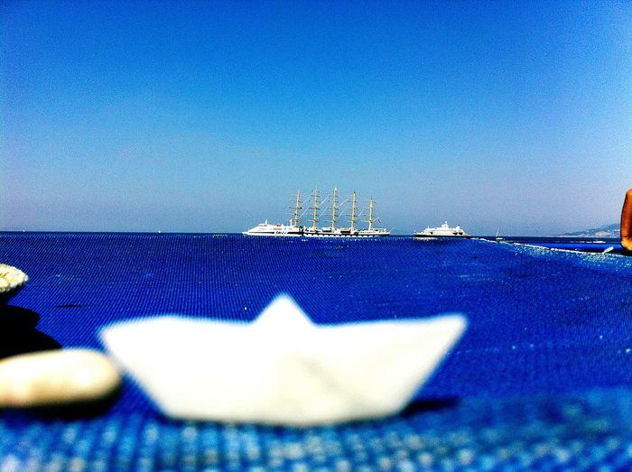 Boat Blue Sky