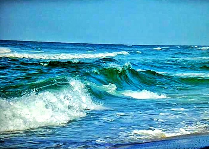 Waves Ocean Waves Beach Photography Ocean Aqua Color Water Aqua Marine Water Aqua Blue Water Big Waves Crashing Waves  Wave Breaking Breaking Waves Beach Photography Seascape Seascape Photography Waterscape Blue Sky And Water Whitecaps White Cap Waves Destin,Florida, USA Shades Of Blue 2016 Terquoise Big Waves Color Palette