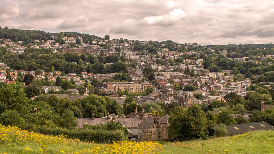Part of Matlock as seen from Masson Hill. Architecture Cloud - Sky Day Derbyshire Dales Landscape Matlock No People Outdoors Scenics Sky TOWNSCAPE Travel Destinations Travel Photography