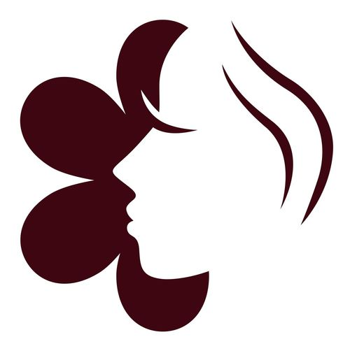 New in shop : Cosmetology woman face with brown flower unique artwork Art Or Sale Bloom Cosmetics Cosmetology Digital Facial Experiments Fashion Logodesign Logodesigner Media Studio Vintage White Background