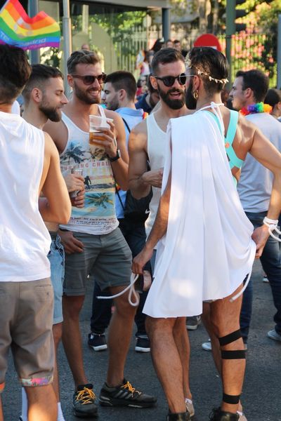 World Pride 2017 Madrid Friendship Fun Togetherness Enjoyment Men Outdoors Leisure Activity Medium Group Of People Happiness Standing Arts Culture And Entertainment Lifestyles Young Men Young Adult Day Real People Smiling Bonding Party - Social Event Entertainment Event Orgullo Gay 2017 Check This Out Gay The Photojournalist - 2018 EyeEm Awards The Street Photographer - 2018 EyeEm Awards Love Is Love