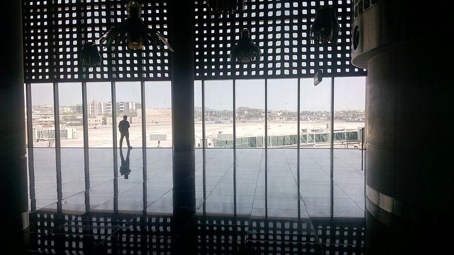 Shadows & Lights Shadows Silhouette T2mumbai T2 Mumbai International Airport Incredible India India