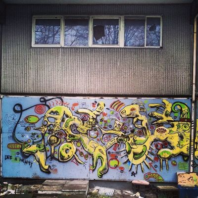 Heygate Heygateestate Heygateestategraffiti Graffiti graffitiporn graffitiart derelict brokenwindow brokenwindows reflections concrete concretejungle