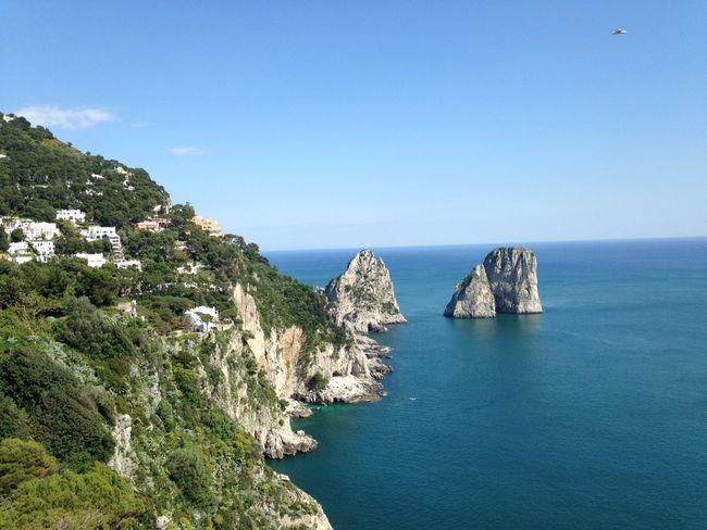 Capri Italy Southitaly Stupendous Beautiful Amazing Sunny Day Nature Italian Sea Sunshine